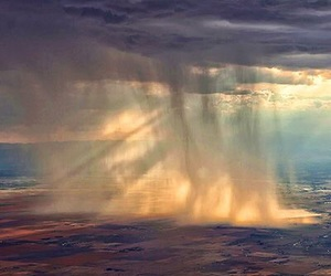 rain, clouds, and nature image