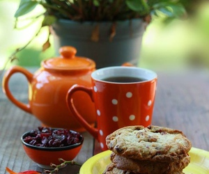 autumn, Cookies, and coffee image