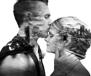 august rush, city, and couple image