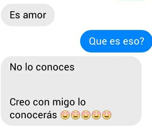 conversation, friend zone, and frases de amor image