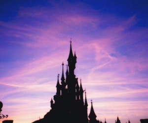 disney, background, and castle image
