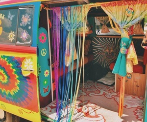 hippie, art, and beautiful image