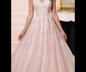 wedding dress, wedding gowns, and Couture image