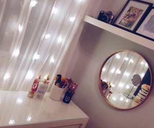 lights and mirror image