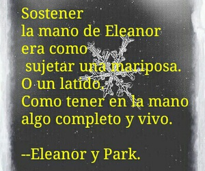 eleanor y park and frases dee libros image