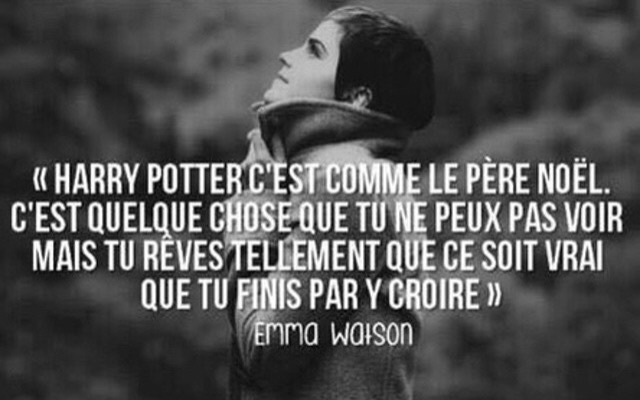 Emma Watson Citation Shared By Potterhead Girl