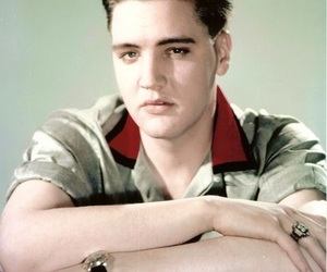 50's, 50s, and Elvis Presley image