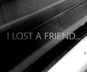black, friend, and lost image