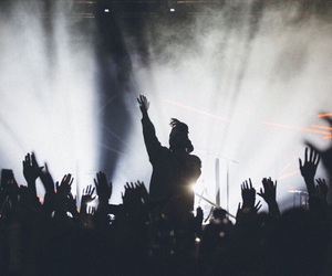 the weeknd, abel, and concert image