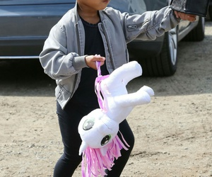 north west, baby, and fashion image
