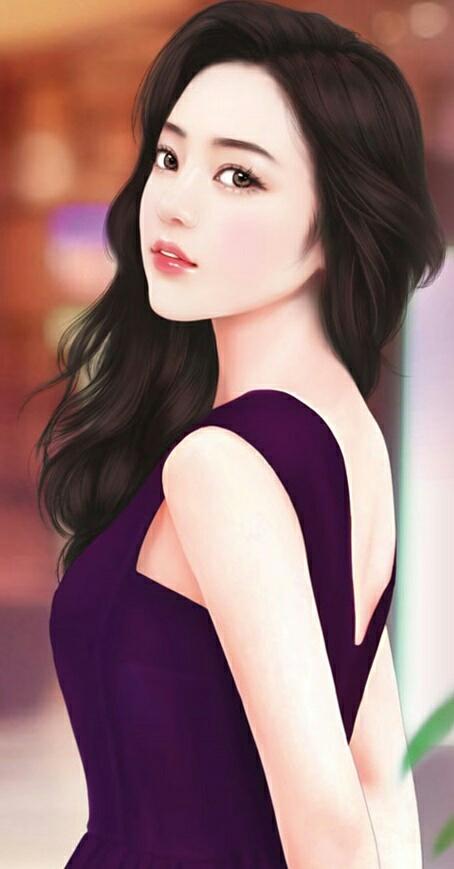 صور انمي بنات كوريا Cartoon Girls Korean Photo