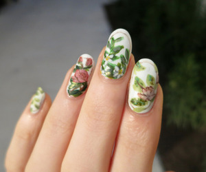 nails and plants image