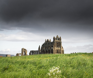 medieval, whitby abbey, and yorkshire image