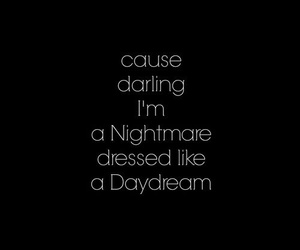 nightmare, quote, and darling image