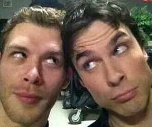 ian somerhalder, joseph morgan, and the vampire diaries image
