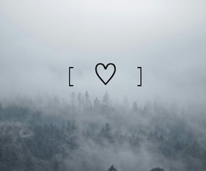 background, heart, and love image