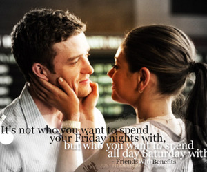 friends with benefits, love, and justin timberlake image