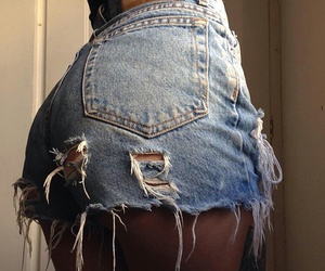 style, shorts, and body image