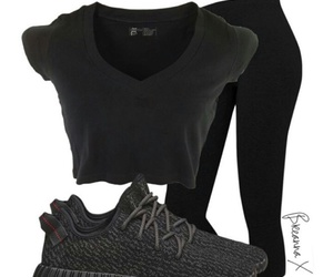 black, boost, and outfits image