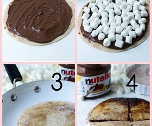 diy, nutella, and food image