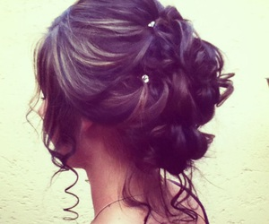 hairstyle and Prom image