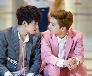 Seventeen, wonwoo, and joshua image