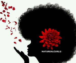 Afro, art, and girl image