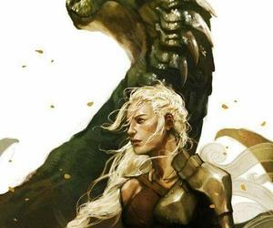 gameofthrones, daenerys, and songoficeandfire image