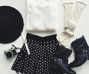 outfit, style, and white image