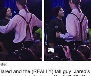 funny, jared padalecki, and supernatural image