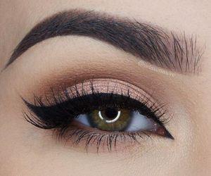 makeup, eyes, and eyeliner image