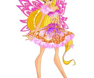 stella, winx club, and fairy of the shining sun image