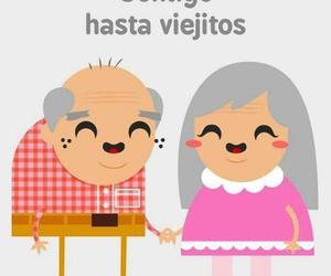 te amo, amor eterno, and viejitos image