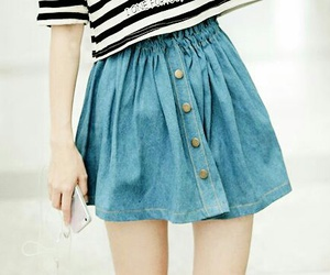 skirt, fashion, and kfashion image