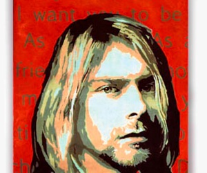kurt cobain, nirvana, and come as you are image