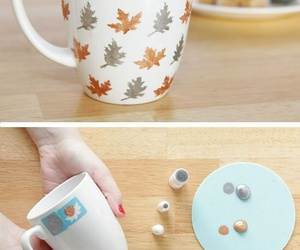 diy, fall, and mug image