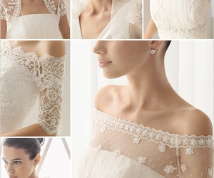dress, lace, and jacket image