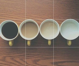 love, coffee, and tumblr image