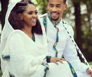 African, couple, and ethiopian image