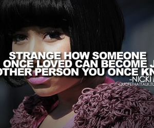quote, nicki minaj, and person image