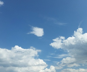 blue, cloud, and white image