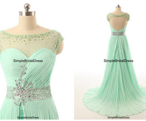 evening dress, prom dresses, and open back dress image