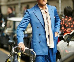 hat, milan fashion week, and handsome man image