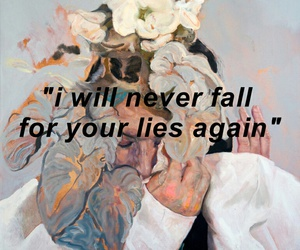 lies, fall, and quotes image