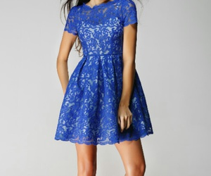 blues, cool, and dress image