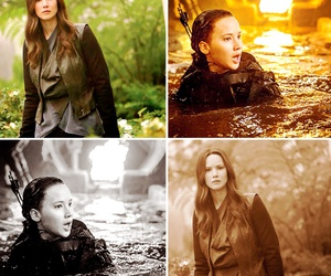 Jennifer Lawrence, hunger games, and girl on fire image