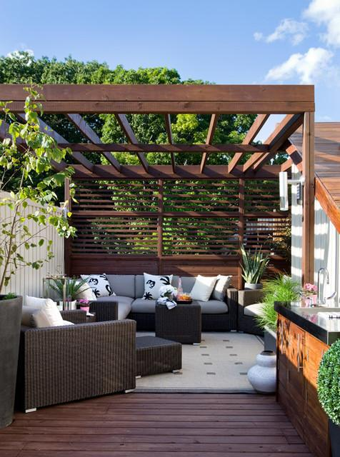 Home Architecture Extraordinary Design Of Rooftop Deck With Sunrise Lighting Breathtaking Comfort Place With Modern Couches Smooth Soft And Awesome Roof Deck Ideas Above Ground Pool Deck Ideas Modern