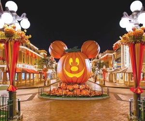 Halloween, disneyland, and october image