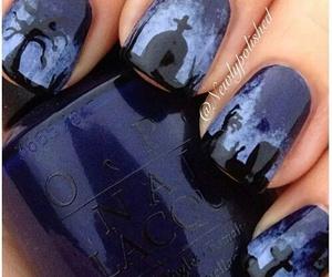 nail art and halloween nails image