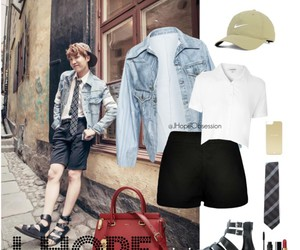 outfit, bts, and bangtan boys image